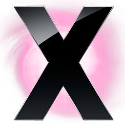 X Circle Pink