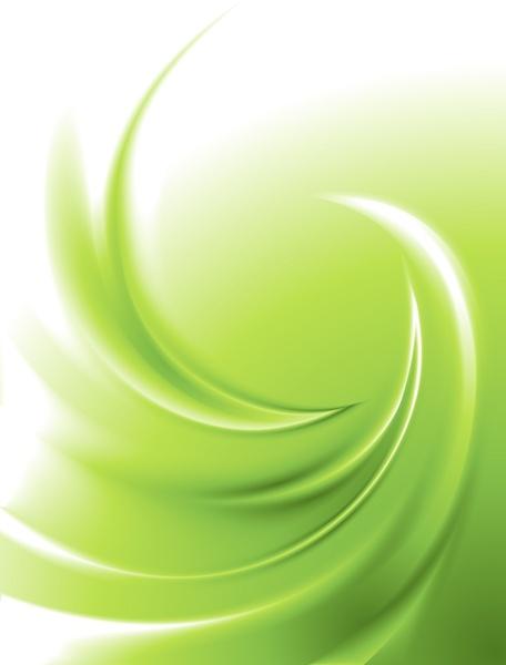 decorative background bright green modern dynamic twist decor