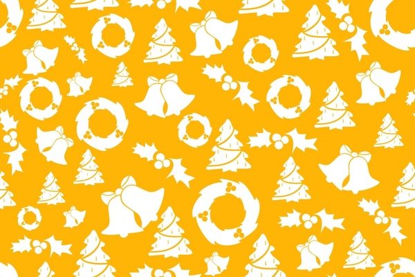yellow christmas background