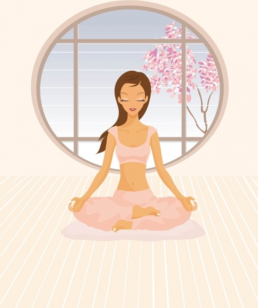 Yoga Vector Free Vector In Adobe Illustrator Ai Ai Vector Illustration Graphic Art Design Format Encapsulated Postscript Eps Eps Vector Illustration Graphic Art Design Format Format For Free Download 1 47mb