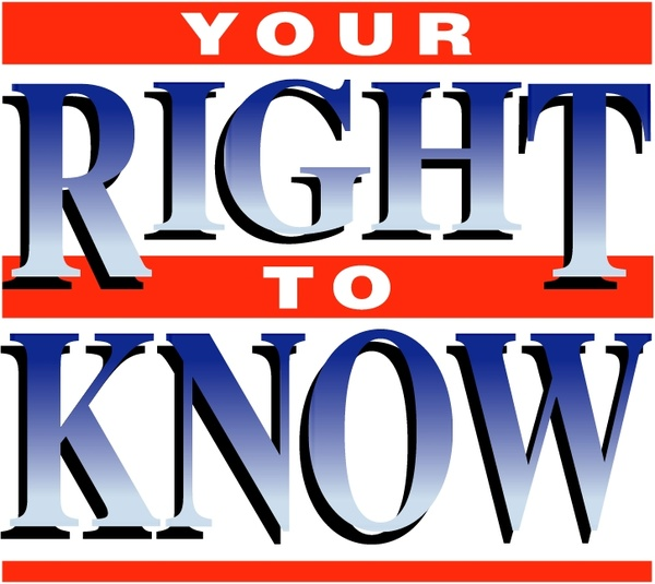 your right to know - 600×535