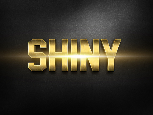013d gold text effect 2 preview