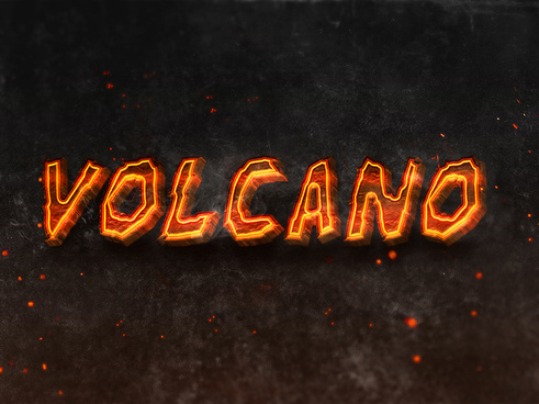 05 3d burning text effects preview