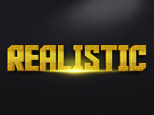093d gold text effect 2 preview