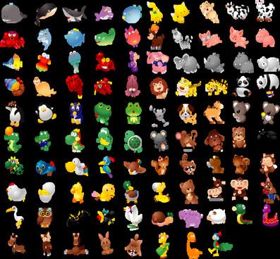 100 nice animals