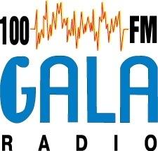 100FM Gala radio logo