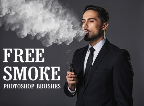 10 free photoshop smoke brushes by fixthephoto