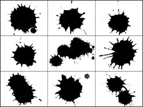 10 splatter brush