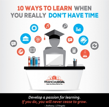 10 ways to learn when you dont have time