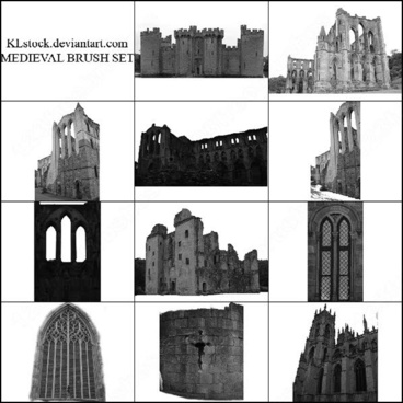 11 medieval style brush