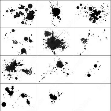 11 splatter brush