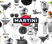 14 martini style brushes