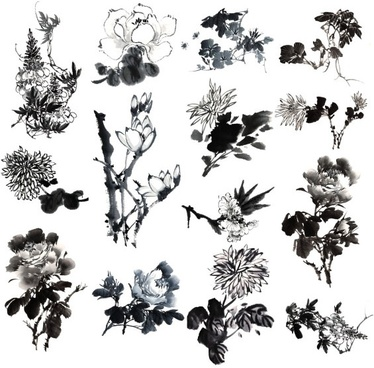 14 painting ink flower definition picture