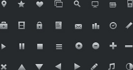 16px Glyph Icons