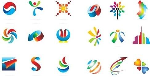 18 Logo Design Elements Vector Graphic