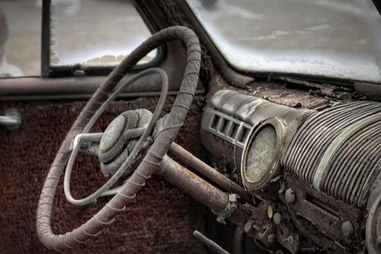 1946 ford interior