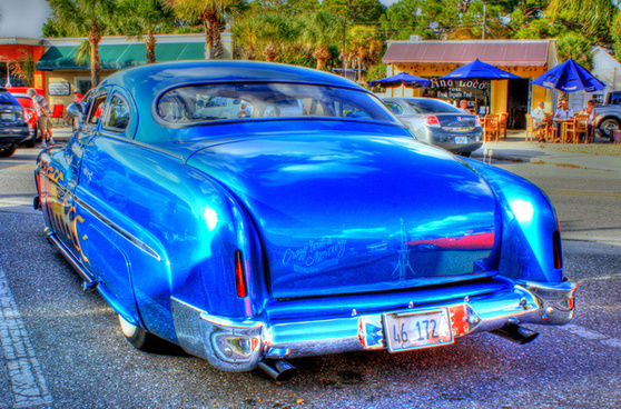1950 mercury lead sled hdr