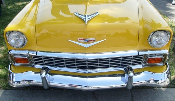 1956 chevrolet front view