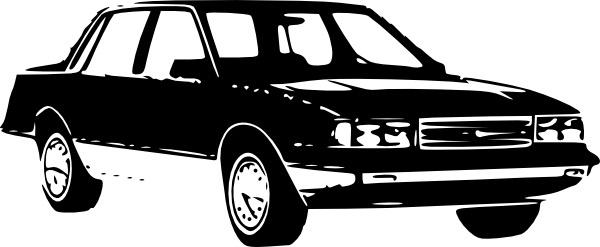 1989 Chevrolet Celebirty Sedan clip art