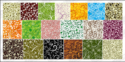 19, over the tile pattern vector background material