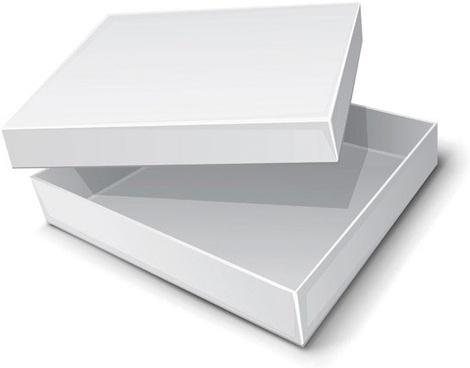 1 carton blank vector