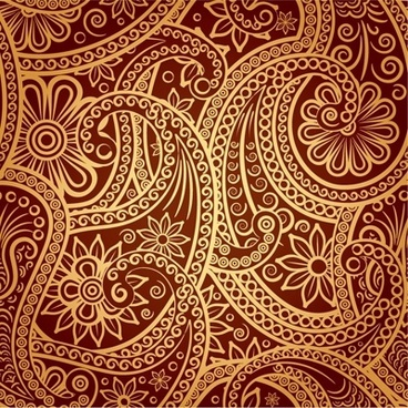 1 exquisite classical pattern vector