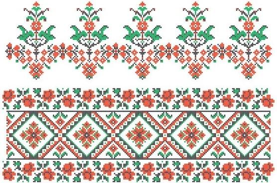 1 pixel pattern vector