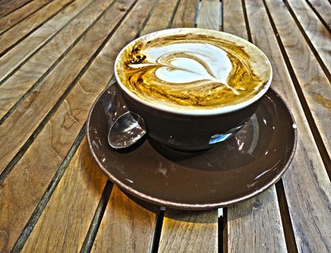 1 x coffee