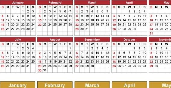 2009 Free vector calendar