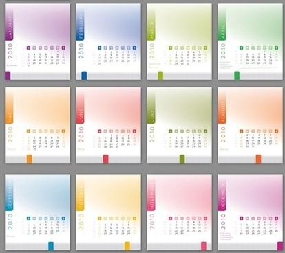 2010 CD Calendar