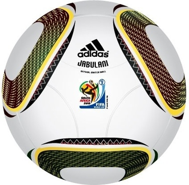 "2010 FIFA World Cup South Africa Official Ball ""JABULANI"" Vector"