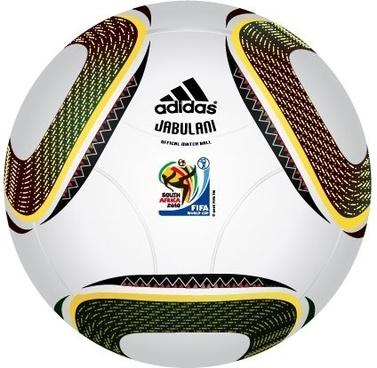 "2010 FIFA World Cup South Africa Official Ball ""JABULANI"" Vector"