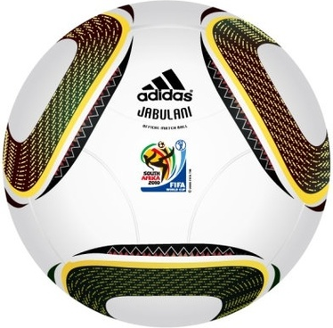 2010 world cup south africa special ball vector