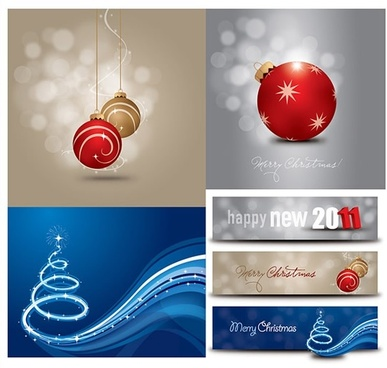 xmas background templates modern bokeh dynamic decor
