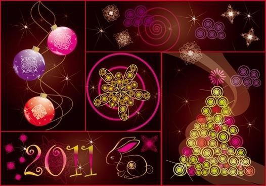 2011 festival background vector