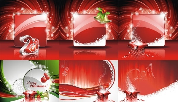 2011 new year christmas vector