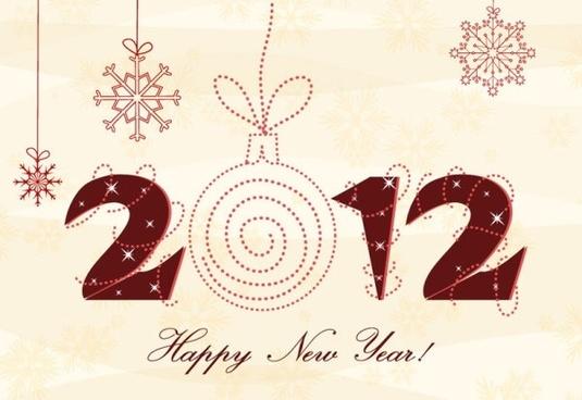 2012 christmas font 03 vector