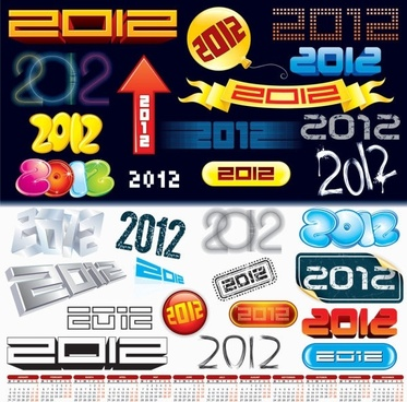 2012 creative arts word vector
