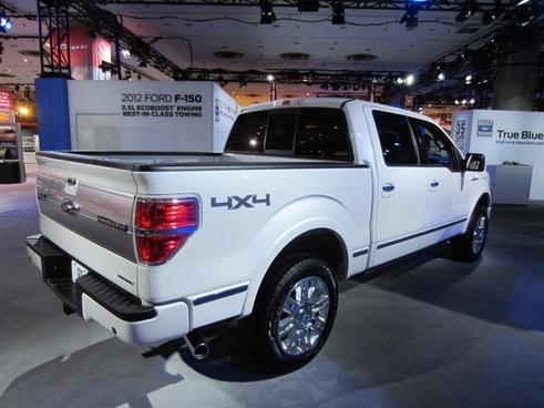 2012 ford f150 platinum edition