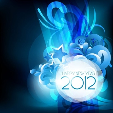 2012 starry background 04 vector