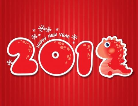 2012pop font snowflakes vector