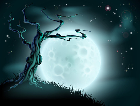 2013 halloween vector background