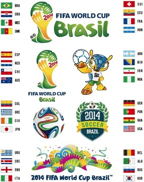 Brazil world cup 2014 free vector download (4,270 Free vector) for