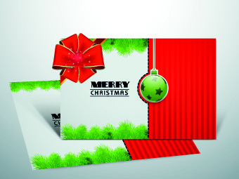 2014 cards christmas design vector