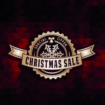 2014 christmas labels background vector set