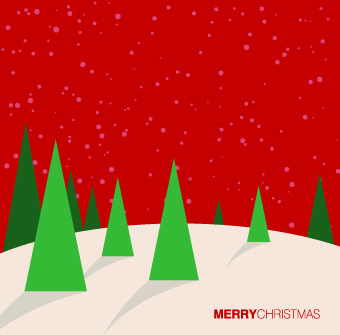 2014 christmas paper cut backgrounds vector