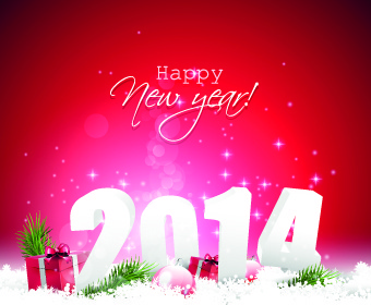 2014 new year creative backgrounds