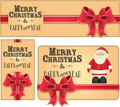 2014 year christmas labels vector