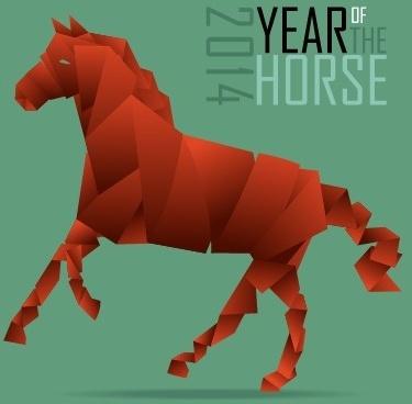 2014 yea r horse background