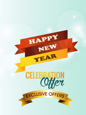 2015 christmas discount big sale poster vectors